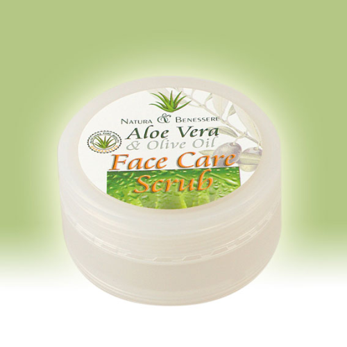 face care scrub aloe vera olive oil reichenhaller. Black Bedroom Furniture Sets. Home Design Ideas